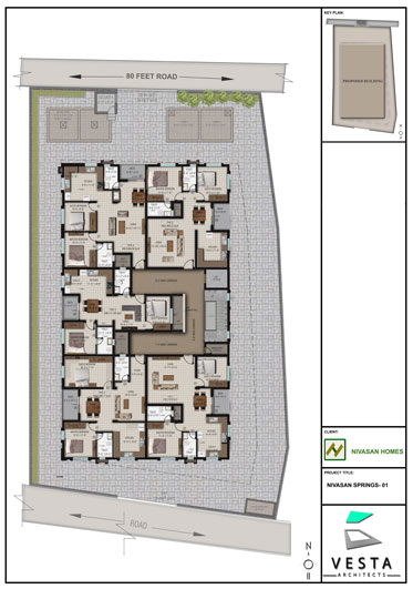 SITE TYPICAL PLAN